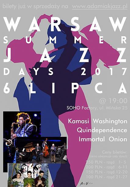 """Laureaci """"Jazzowego debiutu fonograficznego"""" na Warsaw Summer Jazz Days 2017!"""