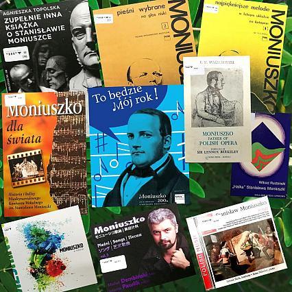 Rok Stanisława Moniuszki w bibliotece Instytutu Muzyki i Tańca
