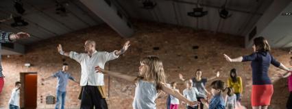 """Warszawa/Scena Tańca Studio II: """"Miękka siła"""" – warsztaty dla najmłodszych (3-5 lat)"""