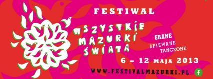 """Warsztaty muzyki tradycyjnej na Festiwalu """"Wszystkie Mazurki Świata"""""""