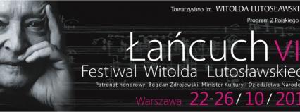 Festiwal Witolda Lutosławskiego Łańcuch VIII, 22-23 października