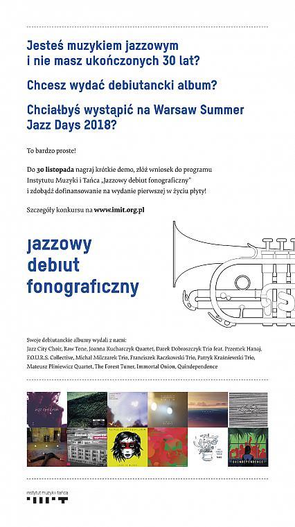 Jazzowy debiut fonograficzny - VII edycja programu