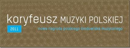 Wręczenie nagród Koryfeusz Muzyki Polskiej